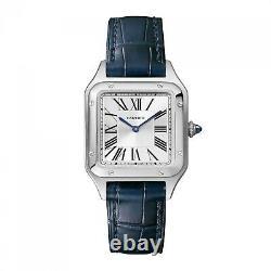 2020 Cartier Santos Dumont Small Model Steel Quartz Watch WSSA0023 Complete