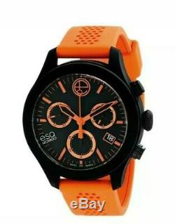 63% OFF BRAND NEW ESQ Movado Men's Swiss Quartz Orange Watch MSRP $795