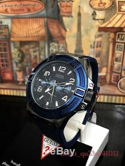 AUTHENTIC GUESS MEN'S RIGOR WATCH W0248G5 Brand New RRP $349
