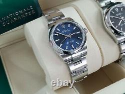 BNIB 2020 Rolex BLUE Dial Novelty Oyster Perpetual OP 31 Brand New 277200