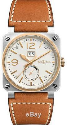 BR0390-BICOLOR Brand New Bell & Ross Instruments Grande Date Men's Watch