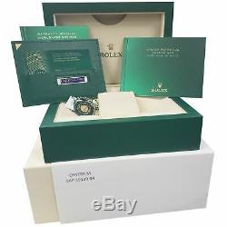 BRAND NEW 2020 CARD Rolex Submariner 41 Date Steel Black Ceramic Watch 126610 LN
