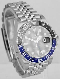 BRAND NEW 2020 Rolex GMT Master II Batman Black Blue SS Ceramic 40mm 126710 BLNR