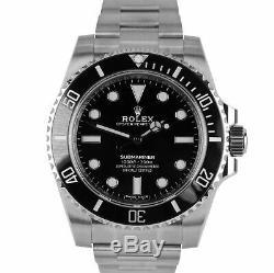 BRAND NEW AUGUST 2019 Rolex Submariner No-Date Stainless Steel 40mm Watch 114060