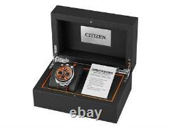 BRAND NEW Citizen Men's LTE Promaster Tsuno Racer Orange Dial Watch AV0078-04X