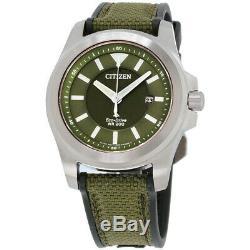BRAND NEW Citizen Men's PROMASTER TOUGH ECO-DRIVE GREEN DIAL Watch BN0211-09X