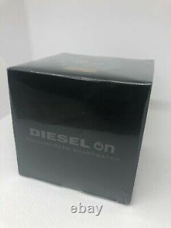BRAND NEW! Diesel ON Full Guard Touchscreen Watch with Leather Band (DZT2009)