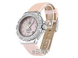 BRAND NEW GENUINE TAG HEUER FORMULA 1 PINK MOP WAC1216 DIAMOND LADIES Watch