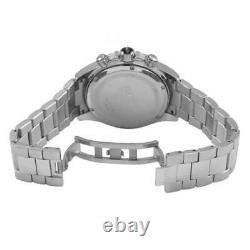 BRAND NEW HUGO BOSS HB1512963 Mens Ikon Silver Blue Face Chronograph Watch