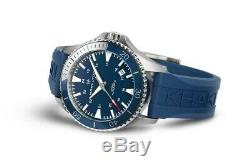 BRAND NEW Hamilton Men's Khaki Field Blue Dial Rubber Band Watch H82345341