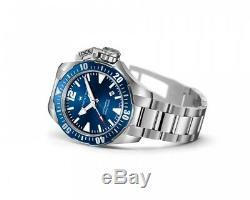 BRAND NEW Hamilton Men's Khaki Frogman Automatic Blue Dial Watch H77705145