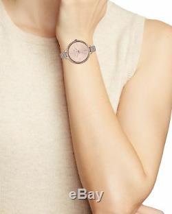 BRAND NEW Michael Kors Women's Rose Gold Stainless Steel Bracelet Watch MK3785