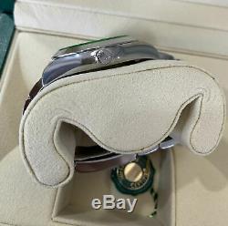 BRAND NEW STICKERED Rolex Milgauss Z-Blue Green Anniversary 40mm 116400 GV Watch
