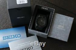 BRAND NEW Seiko 5 Sports Men Black Stealth Dive Watch SRPD79 Automatic PVD Nato