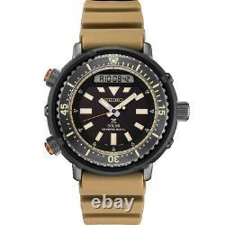 BRAND NEW Seiko Men's Arnie Prospex Tuna Tan Silicone Band Dive Watch SNJ029