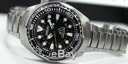BRAND NEW Seiko Prospex Kinetic GMT Divers Men's Watch SUN019 FREE SHIPPING