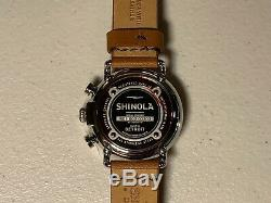 BRAND NEW Shinola The Runwell Quartz Movement Black Dial Men's Watch S0100116