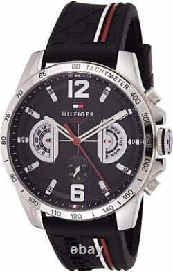 BRAND NEW Tommy Hilfiger Multicolored Silicone Strap Men's Watch 1791473