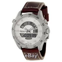 BRAND New Men's Hamilton Khaki Aviation Flight Timer Quartz Watch H64514551