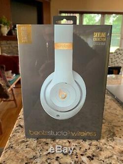Beats Studio3 Wireless Headphones -Skyline Collection Crystal Blue BRAND NEW