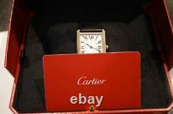 Brand New 2020 Cartier Tank Solo Unisex Watch Full Set Box and Warranty Card