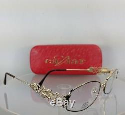 Brand New Authentic Caviar Eyeglasses M 2316 C16 54Mm Austrian Crystals Frame