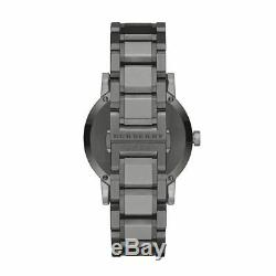 Brand New Burberry BU9007 Ion plated Stainless Steel With Gray Dial Men's Watch