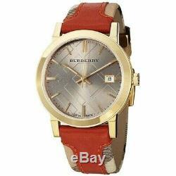 Brand New Burberry BU9016 Gaymarket Gold Tone Stainless Steel Women's Watch