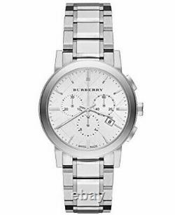 Brand New Burberry The City BU9750 Stainless Steel Checker Dial Women's Watch