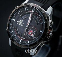 Brand New Casio Edifice Era-200b-1 Twin Sensor Compass Thermometer Rare Limited