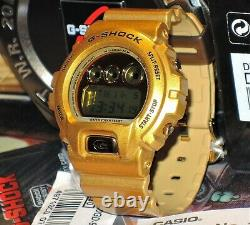 Brand New Casio G-shock Dw-6900gd-9 Gold Rare Mens Limited Genuine