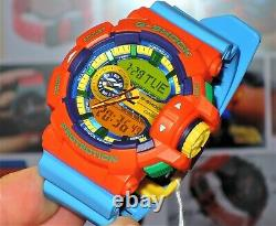 Brand New Casio G-shock Ga-400-4 Hyper Colors Rare Limited 100% Genuine