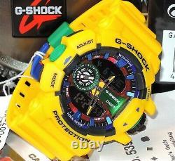 Brand New Casio G-shock Ga-400-9a Hyper Colors Rare Limited 100% Genuine