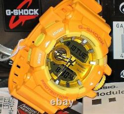 Brand New Casio G-shock Ga-400a-9a Hyper Colors Rare Limited Mens Genuine