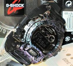 Brand New Casio G-shock Gd-x6900pm-1 Polarized Marble Pattern Limited Genuine