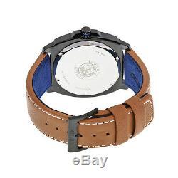 Brand New Citizen Bj6475-00e Eco-drive Black Dial Brown Leather Men's Watch
