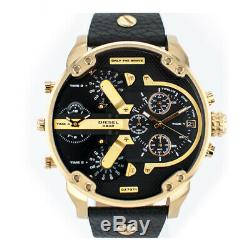Brand New Diesel DZ7371 Mr. Daddy 2.0 Black Dial Quartz Chronograph Men's Watch