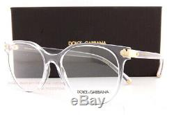 Brand New Dolce & Gabbana Eyeglass Frames DG 5032 3133 Crystal For Women SZ 53