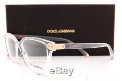 Brand New Dolce & Gabbana Eyeglass Frames DG 5036 3133 Crystal For Women SZ 53