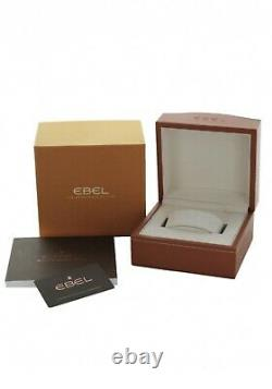 Brand New Ebel Discovery 41mm Mens Watch New In Ebel Box 1216401