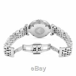 Brand New Emporio Armani AR1908 Stainless Steel Mother of Pearl Women's Watch