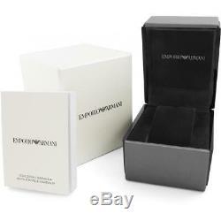 Brand New Emporio Armani Ladies Leo White Ceramic Watch AR1439