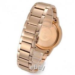 Brand New Genuine Emporio Armani Ar2452 Rose Gold Chronoraph Men's Watch Uk
