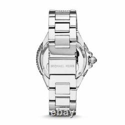Brand New Genuine Michael Kors Mk5869 Camille Silver Crystal Women Watch Uk