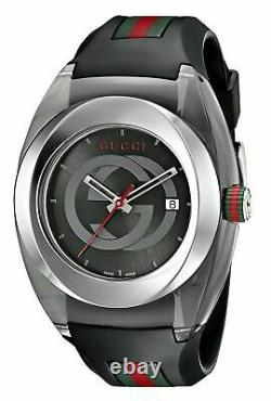 Brand New Gucci Sync XXL Rubber Unisex Watch BLACK (YA137101)