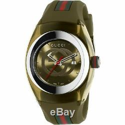 Brand New Gucci Sync XXL Watch KHAKI (YA137106)