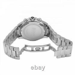 Brand New Hugo Boss Hb1512962 Ikon Silver Genuine Men's Watch Chronograph Uk