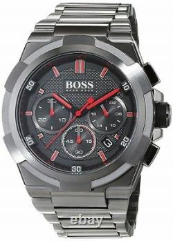 Brand New Hugo Boss Stainless Steel Chronograph Men Watch Hb1513361