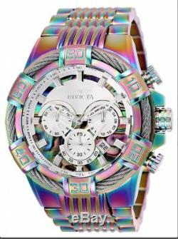 Brand New Invicta Bolt 25545 Multicolor Stainless Steel Men's Watch