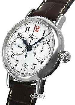 Brand New Longines Heritage Monopusher Chronograph Men's Watch L27754233